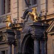 Der Zürcher Gemeinderat tagt im Rathaus.